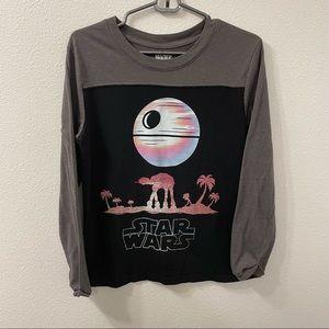 Star Wars rogue one long sleeve shirt small